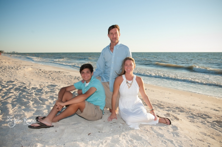 Fort Myers, FL Family Beach Photo