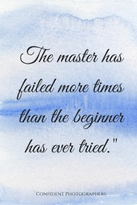 quote about practice and failure